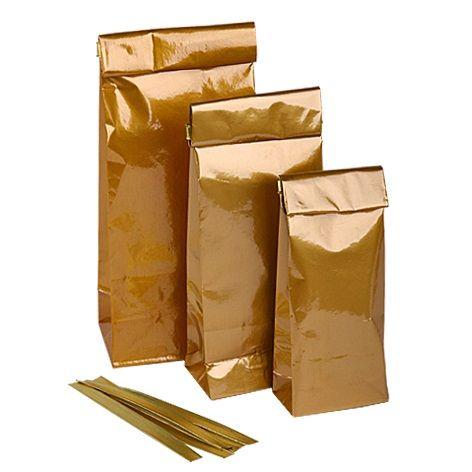 Пакетики для кофе и чая