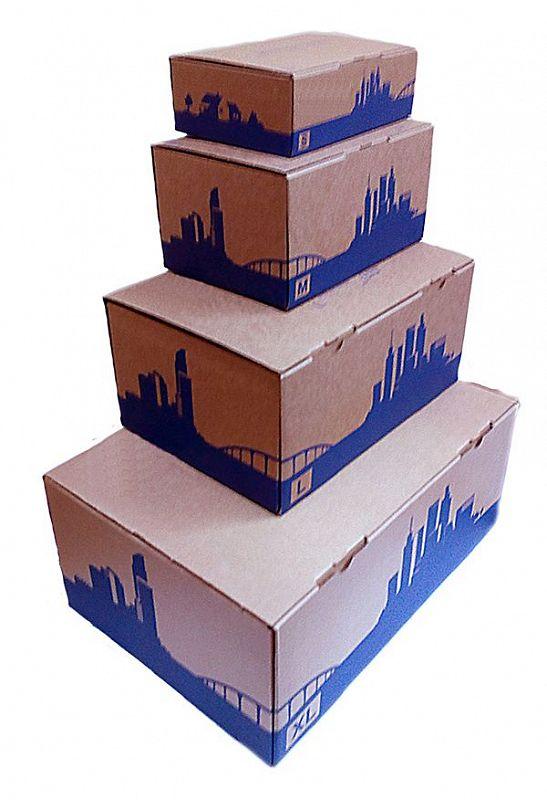Почтовые коробки новогообразца